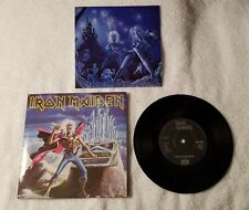 "IRON MAIDEN Run To The Hills / Phantom of the Opera XMAS 7"" UK Vinyl Single 45"