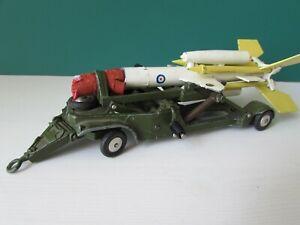 Corgi Bristol Bloodhound Missile and Loading Trolley