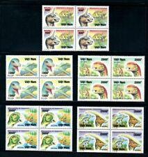 N.726-Vietnam – Block 4- Prehistoric animals set 5 1995