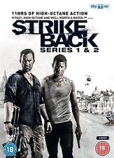 Strike Back Complete Series 1 2 (2011) Richard Armitage NEW SEALED UK R2 DVD