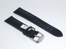 Brand New FLUCO Genuine Shell Cordovan HORWEEN Leather 20 mm BLACK Watch Band