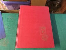 L 48A - RED A4 24 WHITE PAGES (48 sides) STAMP STOCKBOOK, USED CONDITION