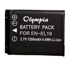 EN-EL19 Battery for Nikon Coolpix S3500 S6500 S3500 S5200 S3300 Olympia Battery