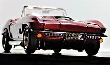 1967 Corvette Chevy Vette 1 Sport Race Car 18 Vintage 24 Metal Model 12 Racer