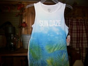 Colorful Planet Sleeveless Boys/' Hoodie Watercolor Blue Size 8  NWT