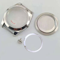 39MM Watch Case Wristwatch Cover Box for Miyota 8215&Mingzhu 2813/3804 Movement