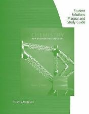 Chemistry for Engineering Students. 2nd Edition. Steve Rathbone.