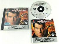 Jeu Playstation 1 PS1 VF  007 Demain ne Meurt Jamais  avec notice  Envoi suivi