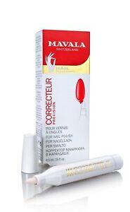 MAVALA SWITZERLAND NAIL POLISH REMOVER CORRECTOR CORRECTEUR PEN FELT TIP 4.5 ML