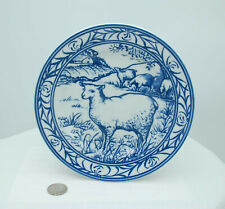 Williams Sonoma plate Brittany pattern Sheep