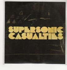 (GH615) The Delta Riggs, Supersonic Casualties - DJ CD