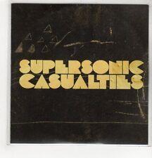 (GH615) The Delta Riggs, Supersonic Casualties - DJ CD