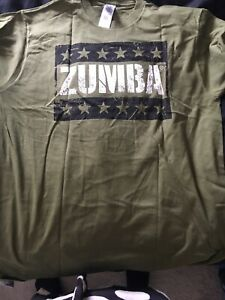 Zumba T-shirt Green
