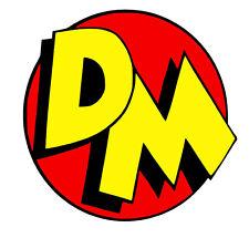 Danger Mouse Emblem vinyl Decal / Sticker