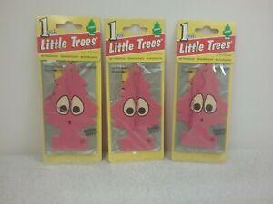 U1P-17118 Little Trees Air Freshener Bubble Berry Scent 3 Pieces