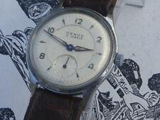 Denco Swiss Sandoz vintage watch ATP DH Style military dial GWO nice movement