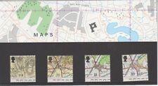 GB 1991 Ordnance Survey mappe Presentazione Pack 221 SG 1578 1581 Nuovo di zecca Stamp Set