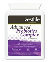 Zestlife Advanced Probiotics Complex 60 capsules for immune & digestive system