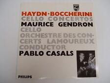 HAYDN BOCCHERINI - CELLO CONCERTO - Gendron / Casals LP