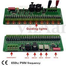 30 Channel DMX RGB LED Strip Controller DMX 512 Decoder Dimmer Regler Driver 12V
