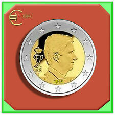 "2 Euro € Kursmünze Coin Coins Belgien 2015 aus  KMS "" Waterloo "" BU"