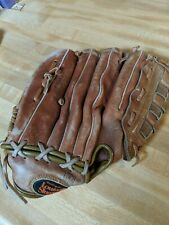 "Louisville Slugger Baseball Glove Big Daddy Ii Lsg12 Leather Rht 12.5"" H&B Vtg"