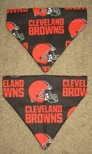 Cleveland Browns Dog Bandana - 2 designs - 5 sizes XS - XL