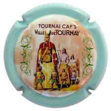 0103- CAPSULE DE CHAMPAGNE - Récoltant BOURMAULT Luc n°11c - TOURNAI CAP'S