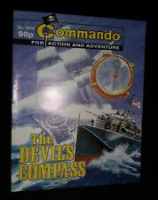 Commando (For Action and Adventure)  THE DEVIL'S COMPASS  # 3614 | 2002 Edition