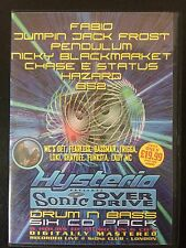 Hysteria 46 Sonic Overdrive! 6 x CD drum n bass rave pack