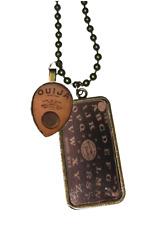 Se7en Deadly Spirit Ouija Board Planchette Gothic Punk Occult Necklace 5605-N
