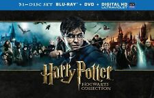 Harry Potter Hogwarts Collection (Blu-ray + DVD + UltraViolet) NEW 31-DISC SET