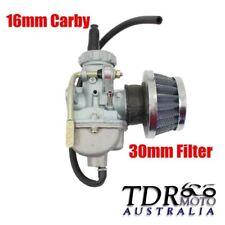 QUAD CARBURETOR Air Filter 16mm Carby 50cc 70cc Chinese 4 stroke atomik lei