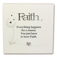 Said With Sentiment 7130 Wall Art Block Faith
