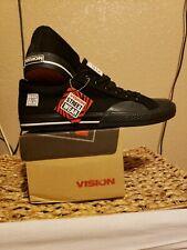 Vision Street Wear Mens Canvas Lo  Retro BLACK Skate Shoe Size US 11 NEW