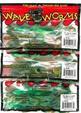 (3) Unopened Packs Wave Tiki-Moko Lizards Swirl Series Caramel Apple Brand New