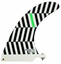 """Captain Fin Slasher El Bull 6.5"""" Fiberglass Longboard Surfboard Fin"""