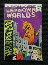 Unknown Worlds #28  Dec-Jan 1963-1964  Nice Copy!