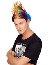 Perücke Punk Spiky Mike Iro bunt Karneval Fasching