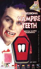 2 Dents de Vampire Dracula Déguisement dentier Homme Femme Halloween Dent