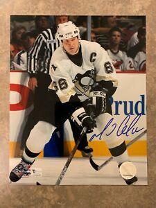 Mario Lemieux 8x10 Photo Autograph Global Authentic Pittsburgh Penguins
