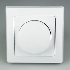 LED Dimmer Drehdimmer Schalter 230V, 20-300W für dimmbare LED Lampen Unterputz