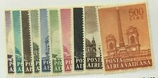 Vatican City #C35-C44 MNH CV$2.55 Glazed Gum [STOCK IMAGE]