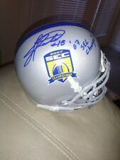Jacob Hester Lsu Tigers signed 2007 Sec Championship Helmet San Diego Chargers