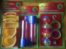 Bird Toys - Wholesale Joblot 100 Budgie, Canary Play Toys , Car Boot, Clearance