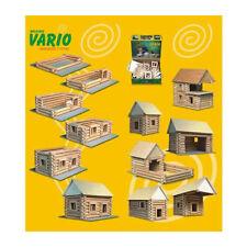 "Walachia W20 "" Vario "" 72- Pieces Wooden Kits House New Wood! #"