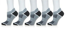 Copper Fit™ 5 pair Unisex Ventilated Performance Sock gray L-XL