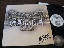 LP Geordie No Sweat UK 1983 Textured Cover UK 1983   M-