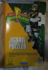 NEW Vintage ~ Power Rangers MMPR jigsaw puzzle CD-ROM FOR Windows AND Macintosh