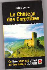 """Jules Verne Le château des Carpathes .livre promotionnel """" Clarine """""""
